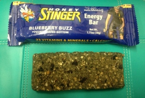 Man, this blueberry bar tasted amazing! I liked the yogurt on the bottom :)